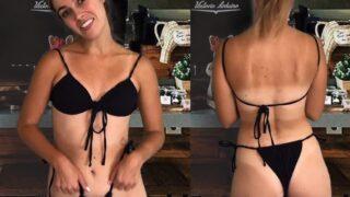 MISS BELL ASMR PATREON BIKINI BARISTA VIDEO LEAKED